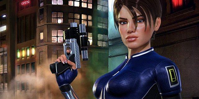 Perfect Darks protagonist: Joanna Dark