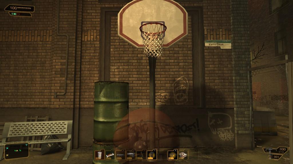 Deus Ex: Human Revolution - Basketball
