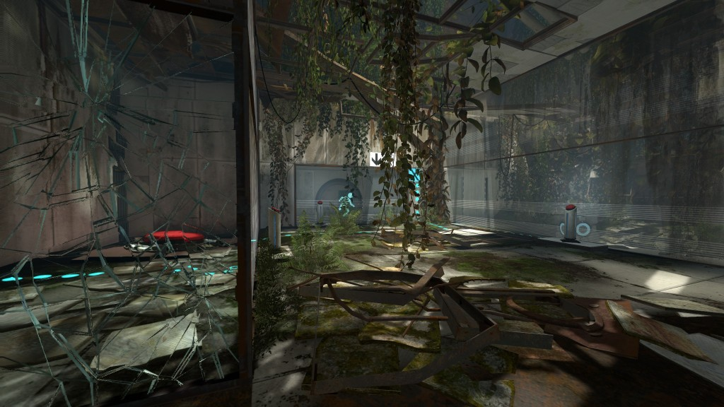 Portal 2 Test Chamber Decay