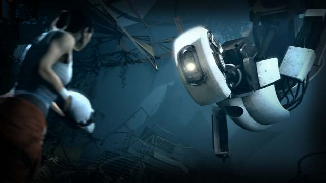 Portal 2 Title Screen