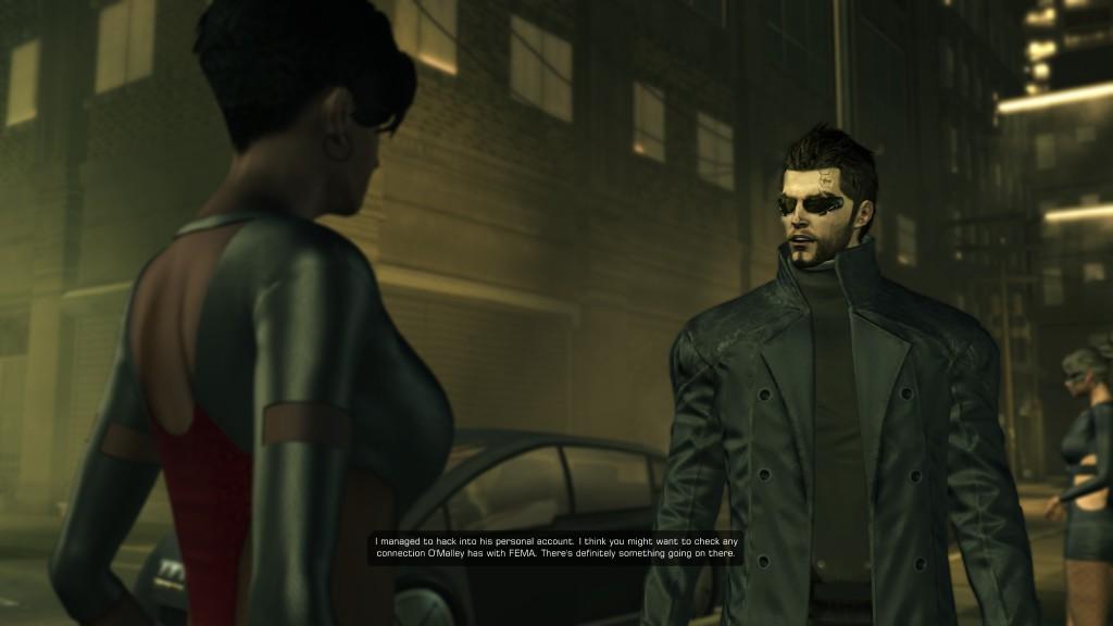 Deus Ex: Human Revolution - Jensen converses with J Alexander