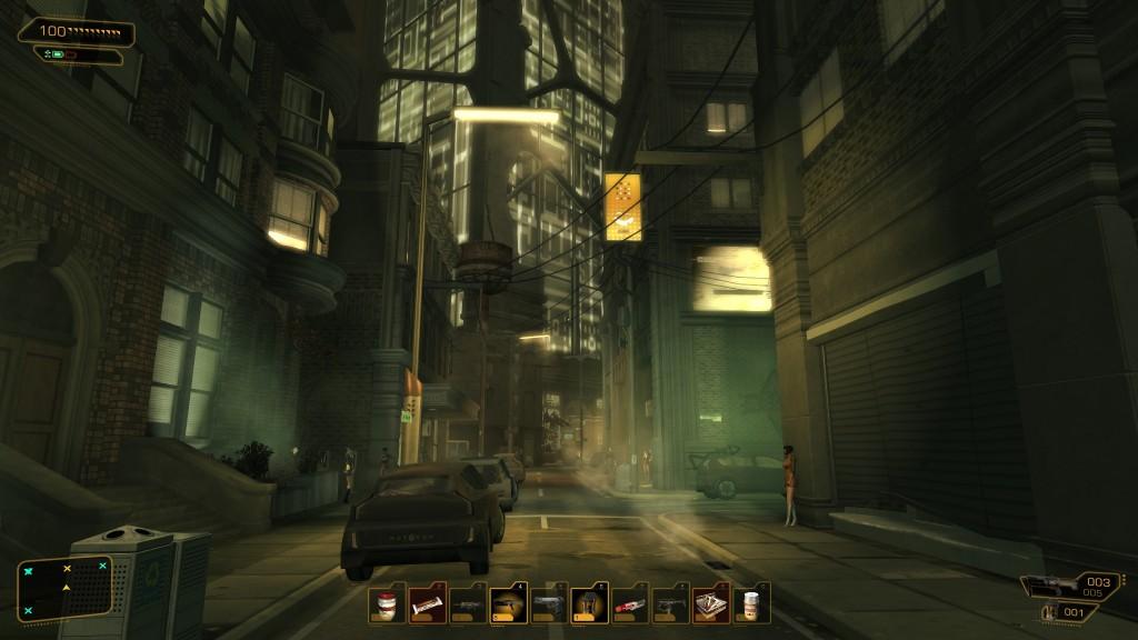 Deus Ex: Human Revolution - Alleyway