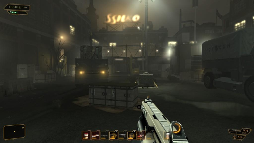Deus Ex: Human Revolution - FEMA?
