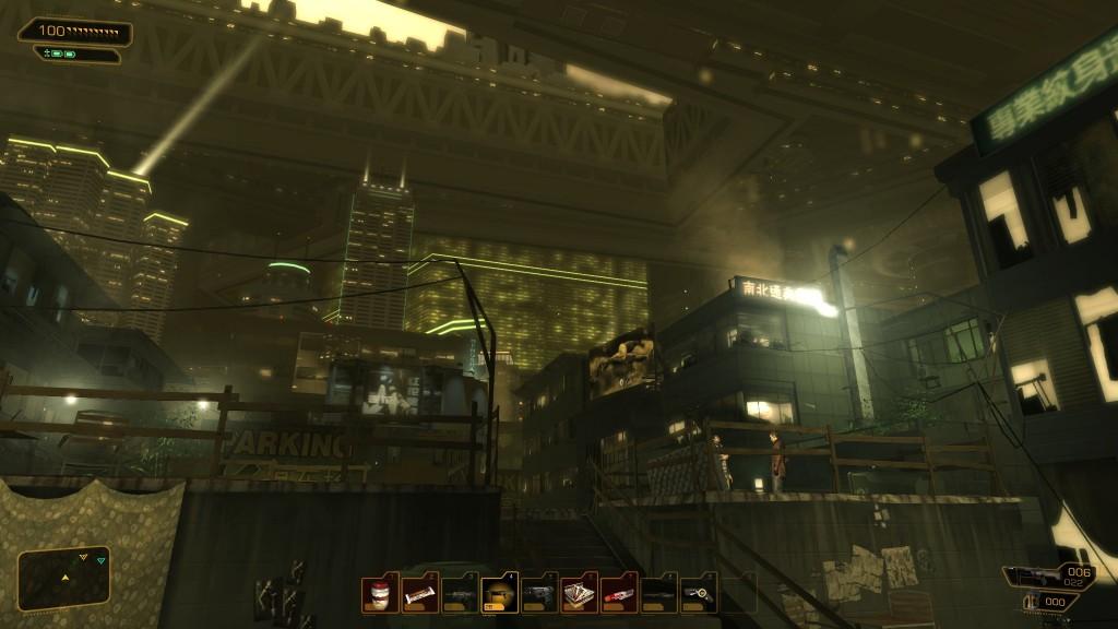Deus Ex: Human Revolution - Rooftops of Hengsha