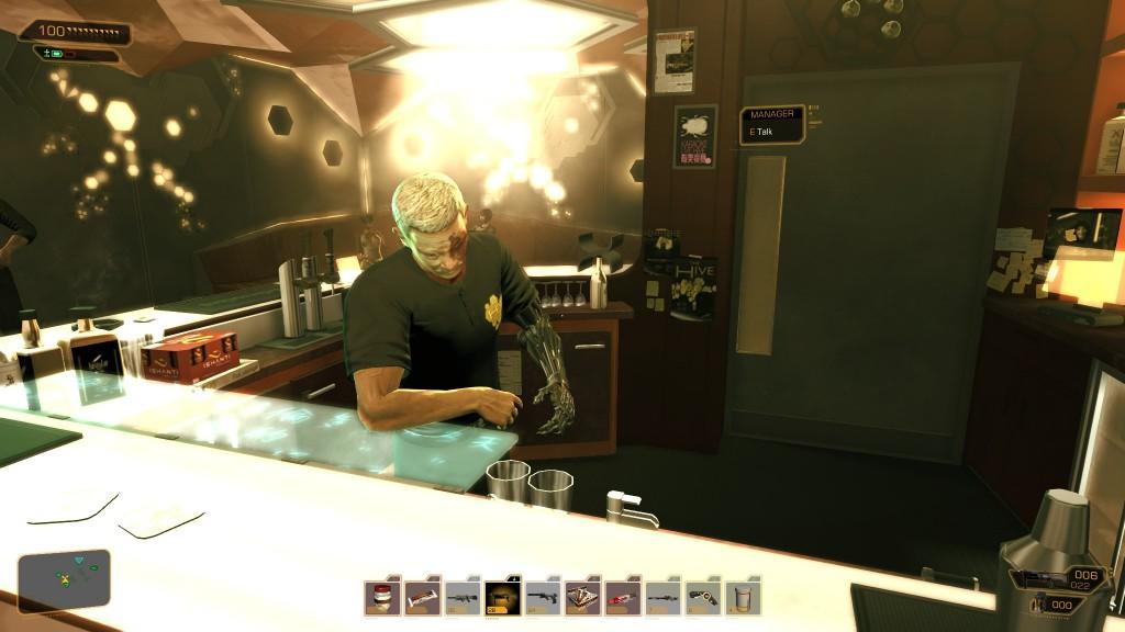 Deus Ex: Human Revolution - The Hive's Manager