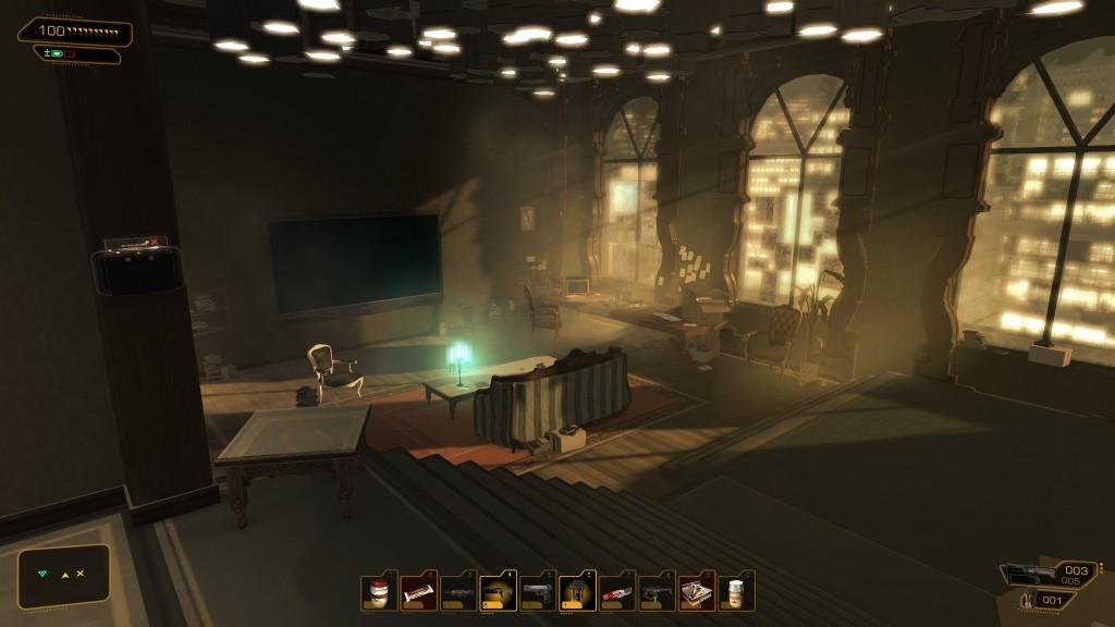 Deus Ex: Human Revolution - Jensen's Apartment