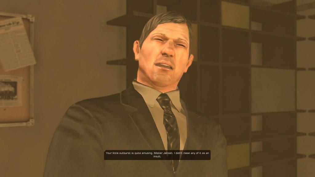 Deus Ex: Human Revolution - O'Malley's last words