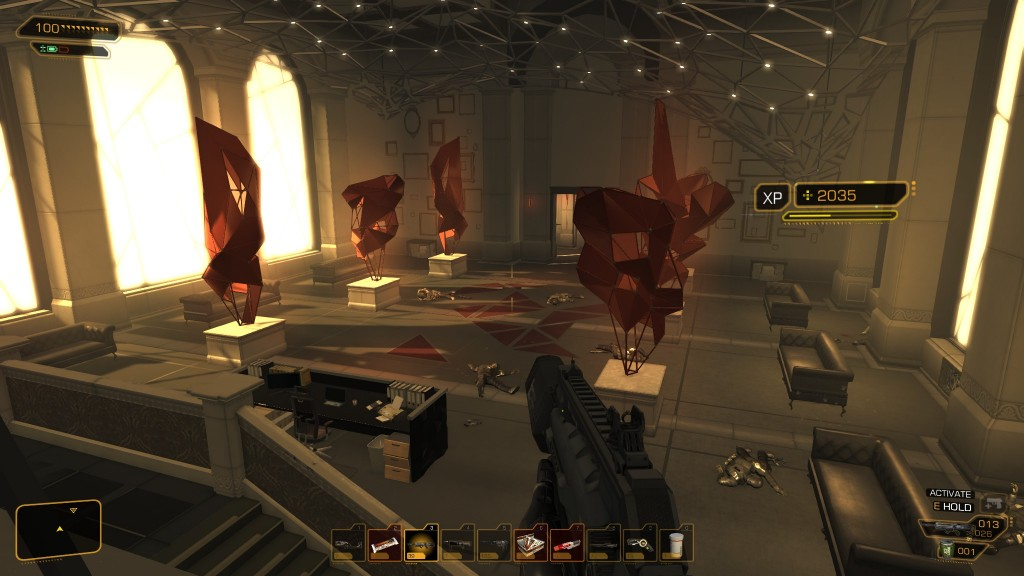 Deus Ex: Human Revolution - Tai Yong is a mess when I'm finished