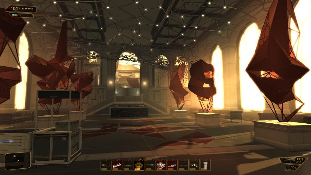 Deus Ex: Human Revolution - A modern palace sits atop Tai Yong Medical