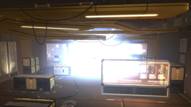 Deus Ex: Human Revolution - Tai Yong Medical server room